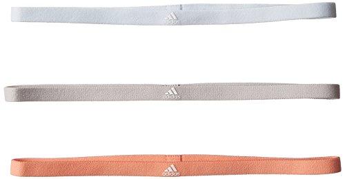 adidas 3Pp Hairband Cintas De Pelo, Hombre, Azul (tinazu/pertiz/Blanco), Talla Única