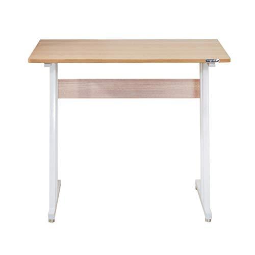 YYF Table d'ordinateur Portable Table d'ordinateur Portable Simple Table de Bureau lit Table Petite Table Dortoir Bureau de Chevet (Couleur : A)