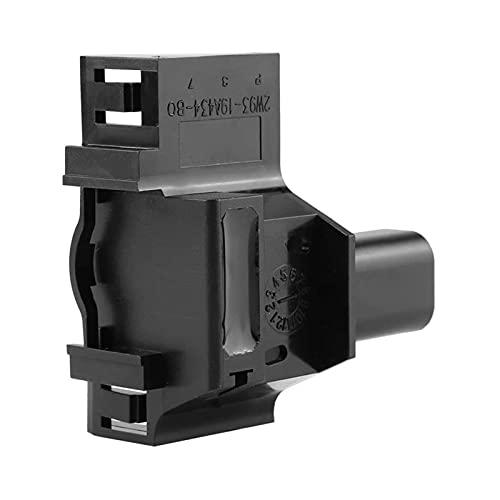 CLEIO Capucha de interruptor de automóvil Alarma antirrobo Fit para Land Rover LR2 LR4 2005-2013 LR041431 (Color : Black)