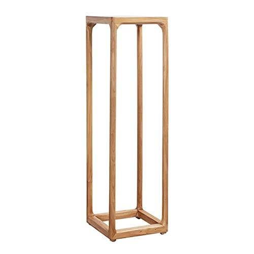 Base de jarrón de madera Pantalla de vitrina de plantas de madera Tall Planta Soporte Rack Potes de soporte de soporte para macetas de interior Pantalla de plantador para sala de estar Balcón Jardín S