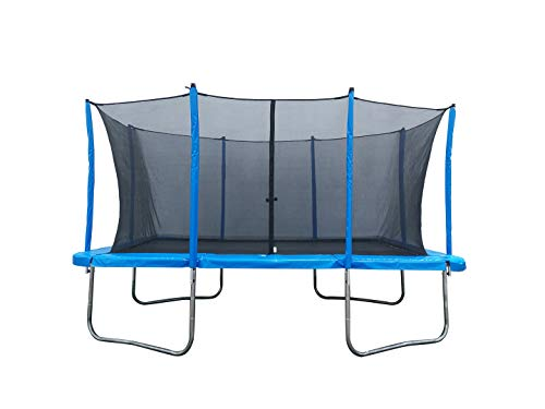 MX Pro Rectangle Trampoline 10x17 Feet with Safety Net Enclosure