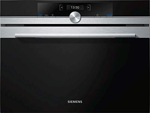 Siemens-lb iq700 - Microondas 45cm cf634ags1 Cristal Negro