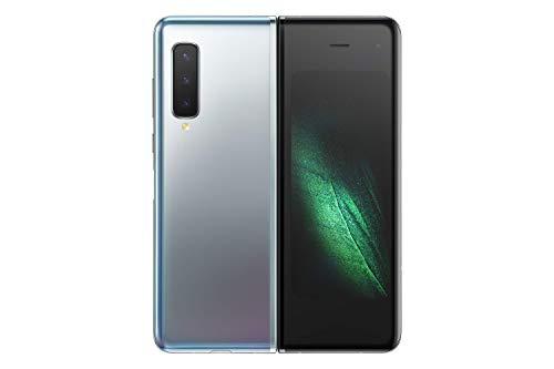 """SAMSUNG Galaxy Fold 5G 512GB Space Silver [18,5cm (7,3"""") OLED Display, Android 9.0, Triple-Hauptcámara, Faltbar]"""