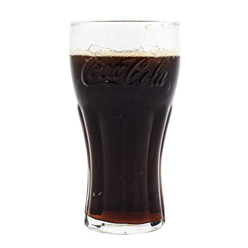 Coca-Cola-Gläser, grün, 460ml, 4er-Set