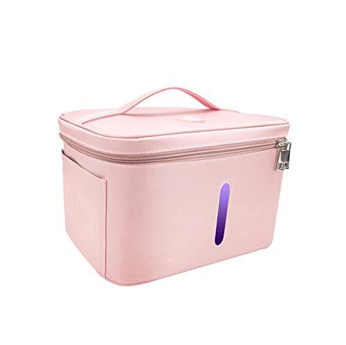 LIYZ Caja de Bolsa desinfectante con luz Ultravioleta LED portátil, Bolsa de...