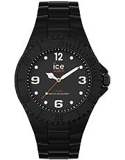 Ice-Watch - Ice Generation Black Forever - Montre Noire Mixte avec Bracelet en Silicone - 019154 (Medium)