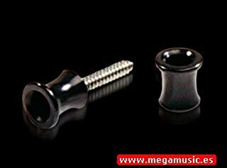 TOPE SEGURIDAD GUITARRA ELECTRICA - Dunlop (1501N) Straplok Traditional (Niquelado)