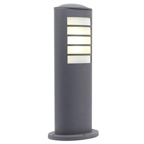 ZLMAY Lámpara de césped al Aire Libre Impermeable de la lámpara del Paisaje Simple Europea Moderna Villa Jardín lámpara del césped del jardín de la lámpara E27