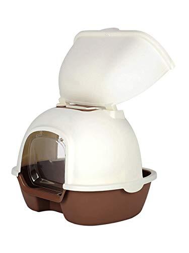 GBY Kat toilet, kattenbak volledig ingesloten, extra grote deodorant grote kat toilet, geschikt voor 10kg kat kaki, 50 * 40 * 41cm
