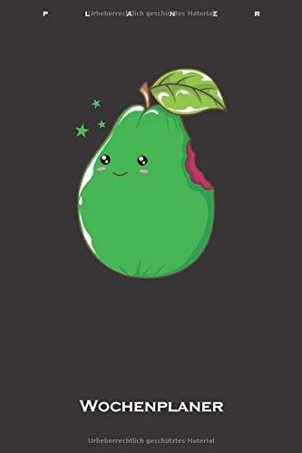 Guave Guava Frucht Wochenplaner: Wochenübersicht (Termine, Ziele, Notizen, Wochenplan) für Obstliebhaber und Genießer von Früchten