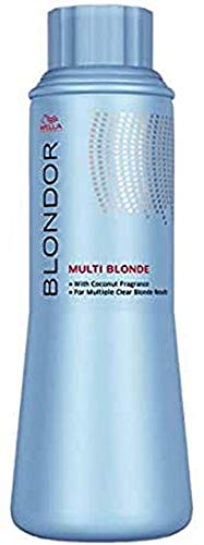 Wella Blondor Multi Blonde Weißes Blondiergranulat, 500 g, 1er Pack, (1x 0,5 kg)