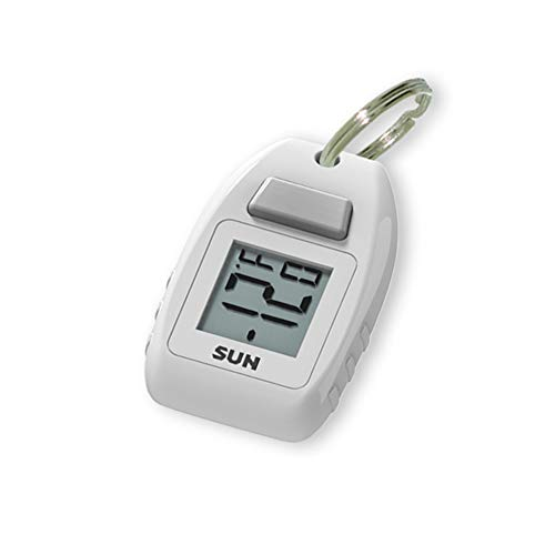 Sun Company Digital Zipogage - Compact Zipperpull Digital Thermometer | for Skiing, Snowboarding, Cold-Weather Camping, Snowshoeing, or Any Outdoor Activity