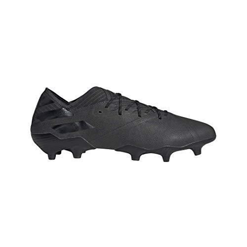 adidas Mens Nemeziz 19.1 FG Soccer Cleats (Black/Black/10.5 D(M) US)
