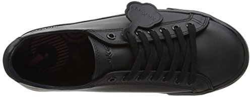 Kickers Unisex's Tovni Lacer Shoes, Black, 7 UK 41 EU