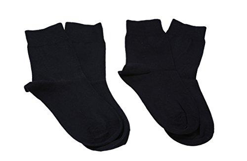 Betz 2 Paar Damen Socken Relax EXQUISIT ohne Gummib& Berufssocken Arbeitssocken Größe: 39-42 Farbe schwarz