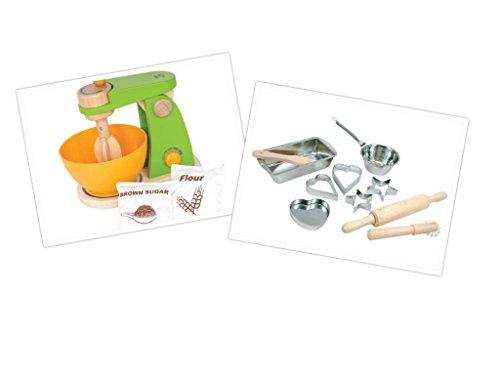 Hape Mighty Mixer und das Bino Culinaria Backset in Einem! / Spielküche