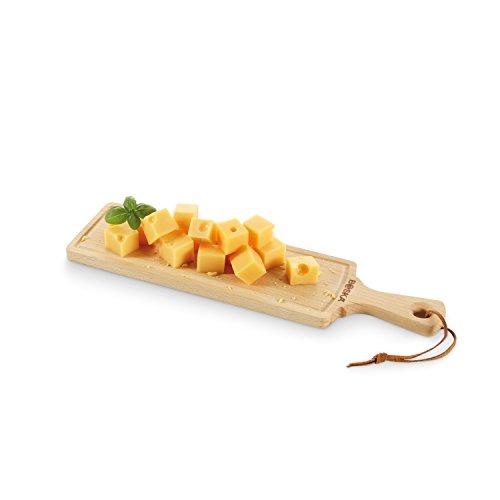 BOSKA 358118 Planche à Fromage Amigo Tapas Taille S S, Bois, Beige, 24 x 15 x 1,6 cm