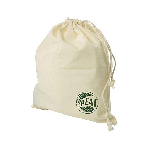 BIOZOYG repEAT torby na chleb i bułki 30 x 35 cm bio bawełniane torby z tkaniny ze sznurkiem I torby na chleb I wielokrotnego użytku Można prać I torby na żywność I zmywalne chleb torba materiałowe na rolki 12 sztuk