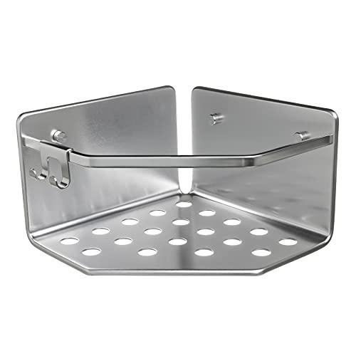 Tatay Estante de Ducha Rinconera Moon, 100% Inoxidable, de Aluminio, Diseño Minimalista, 10 Años de Garantía, Medidas 20 x 20 x 12 cm