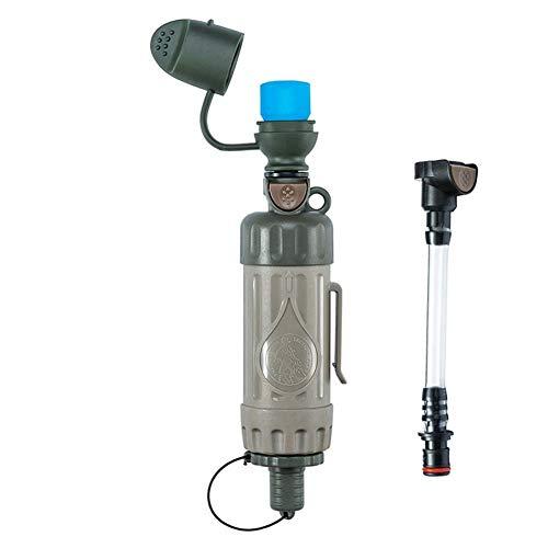 POSPORT Filtre à Eau 1000L Personnel, Système de Filtration d'eau Élimine 99,9% des Bactéries pour extérieur Survie Randonnée Camping