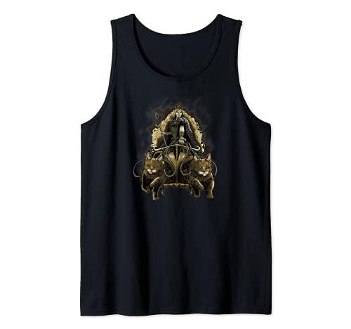 Freya - Medieval Viking Mythology - Norse Paganism Asatru Camiseta sin Mangas