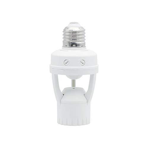 Lampadine domestiche e commerciali Titolare intelligente PIR movimento infrarosso della lampada del sensore con interruttore di controllo della luce supporto della lampada, adatto a E27 LED AC 220V