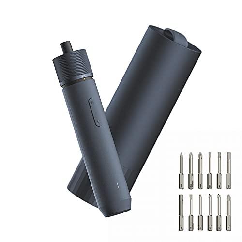 Destornillador eléctrico inalámbrico HOTO, batería de iones de litio de 3,6 V 1500 mAh, destornillador portátil recargable con puerto USB-C para montaje de muebles, mesas, sillas y estantes
