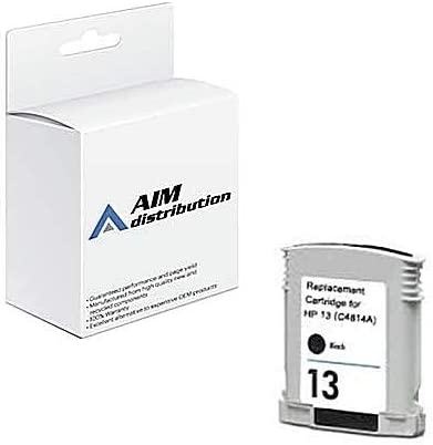 AIM Compatible Replacement for CTG814A Black Inkjet (430ML -1750 Page Yield) - Compatible to HP C4814A - Generic