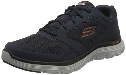 Skechers Flex Advantage 4.0, Zapatillas Hombre, Azul Marino, 44 EU