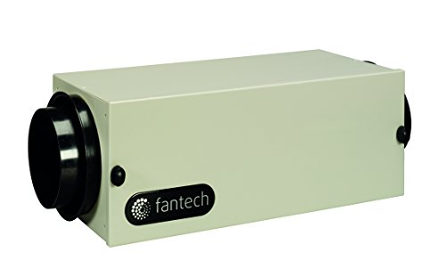 Fantech FB 6 in-Line Filter Box with MERV, 13 Filter, 6' Duct