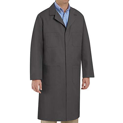 Red Kap Men's Shop Coat, Charcoal, 50