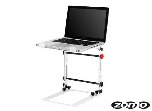 Zomo LS-10 Laptop Ständer für DJs, weiß