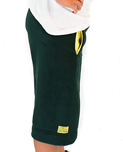 Cowboy's Fuzzy Duds Youth - Green/Yellow Pockets