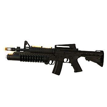 LilPals  22 Inch AK-988 Toy Rifle - Toy Gun Features Dazzling Electric Light Amazing Electronic Sound & Unique Action
