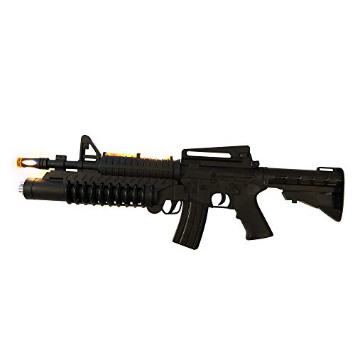 LilPals' 22 Inch AK-988 Toy Rifle - Toy Gun Features Dazzling Electric Light, Amazing Electronic Sound & Unique Action