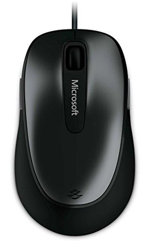マイクロソフト マウス 有線/USB接続/5ボタン/グレー Comfort Mouse 4500 4FD-00034
