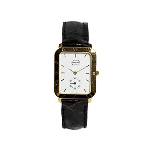 Reloj vintage Watch Roman Numerals rectangular XMC641 Swiss Made 23027