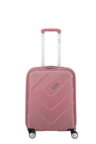"""Travelite Hartschalen-Koffer-Serie """"KALISTO"""" von travelite in 4 Farben: topmodisch, elegant, robust, 55 cm, 40L, Rosé"""