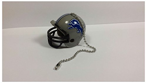 NEW NFL Ceiling Fan Helmet Pull Chain Lamp Pull Chain (Detroit Lions)