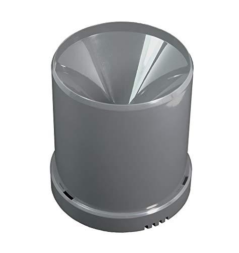 POPP POPE700168 Z-Rain Regensensor Regenmesser, 1.5 V, Grau, 15.5 x 14.1 x 13.8 cm