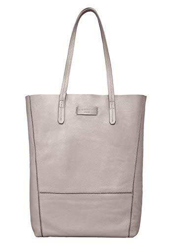 Liebeskind Berlin Damen Essential Tote Medium Grau (String Grey) 11x38x25 cm