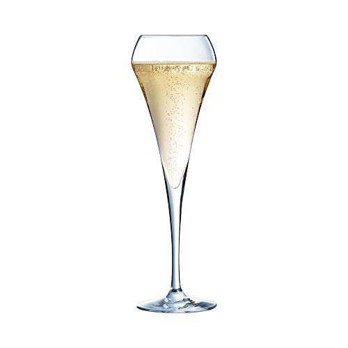 Chef & Sommelier ARC U1051 Open Up champagnekkkel, champagneglas, 200 ml, transparant
