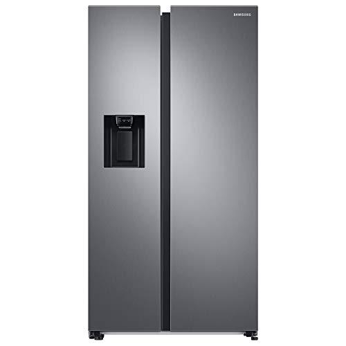 Samsung RS6GA8532SL, EG SidebySideKühlschrank mit SpaceMaxTechnologie, 409 Liter Kühlschrankvolumen, 225 Liter Gefriervolumen, 281 kWh/Jahr, Premium Edelstahl Look