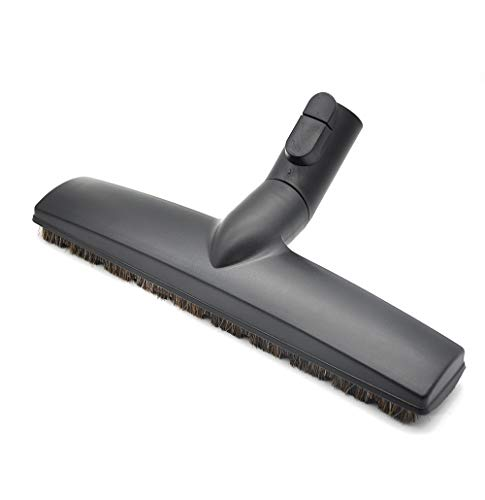 EZ SPARES Replacement of SBB Parquet Anti-Collision Smooth Floor Brush with Horsehair for Miele Vacuum Cleaner 35mm 1 3/8'