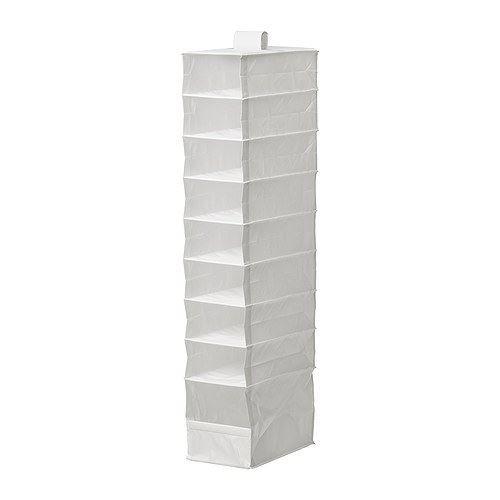 SKUBB - con 9 compartimentos de almacenamiento Hangerworld, blanco