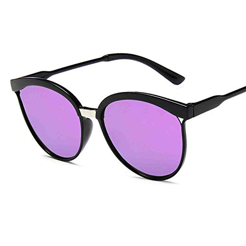Vintage Runde Verspiegelte Polarisierte Sonnenbrille mit UV400 Schutz Damen/Herren Teenager&Mädchen Mode Sonnenbrille