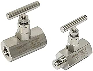PIC Gauge CPSS2 316 Stainless Steel Schedule 80 Heavy Duty Syphon 1//2 NPT Connection Size 180 Degree
