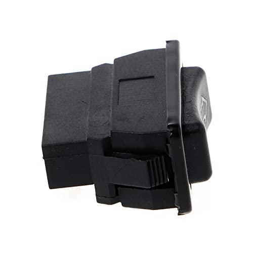 DAI QI Corriente Directa de plástico Universal 12V 20A Auto Coche Interruptor de Ventanas de alimentación 5 Pines
