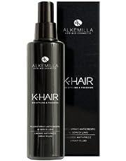 ALKEMILLA - K-Hair - Spray Desenredador con Semillas de Lino - Fórmula ligera para cabello suave y humectado - Vegano, AIAB, níquel probado - 100 ml
