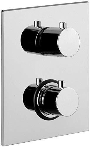 LIQ518CR/M Miscelatore termostatico incasso doccia (2 uscite) LIGHT PAFFONI